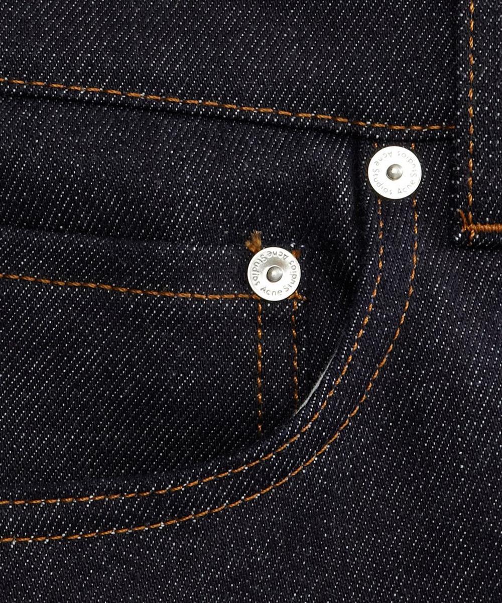 Stretch Denim Raw Jeans L32