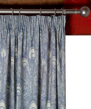 Hebe Indigo Ready Made Curtain Set 167cm x 182cm