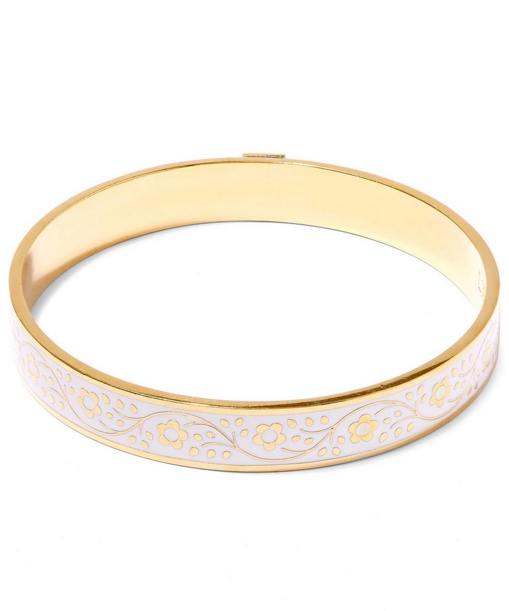 Pemberley Enamel Solid Floral Bracelet