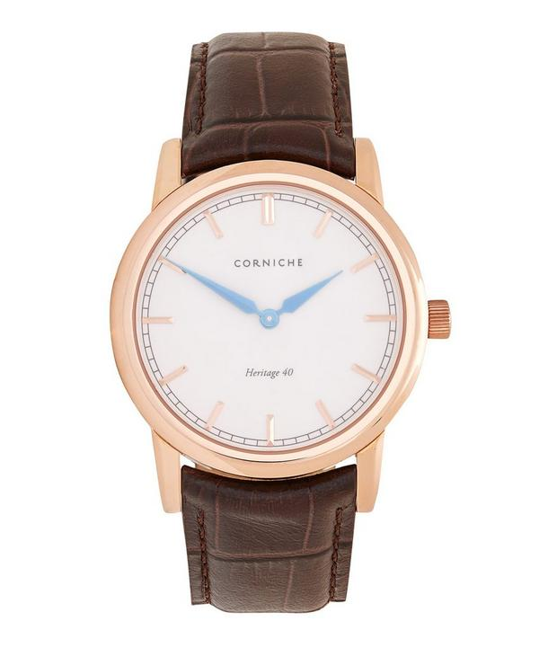 Rose Gold Heritage 40 Cream Dial Watch