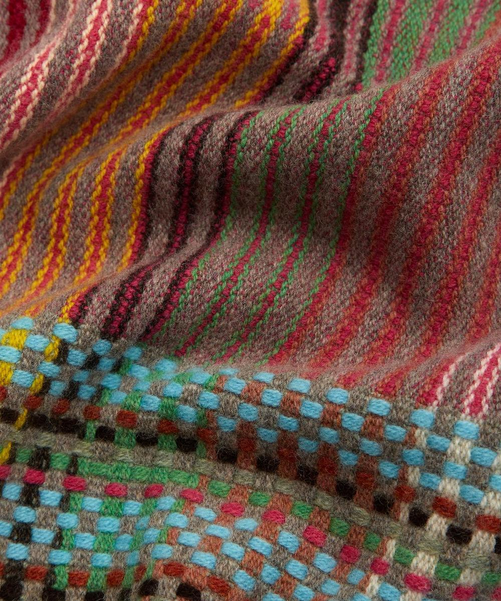 Emmeline Pinstripe Lambswool Throw