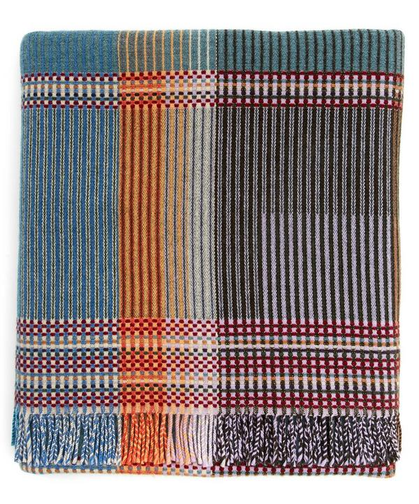 Newton Pinstripe Lambswool Throw