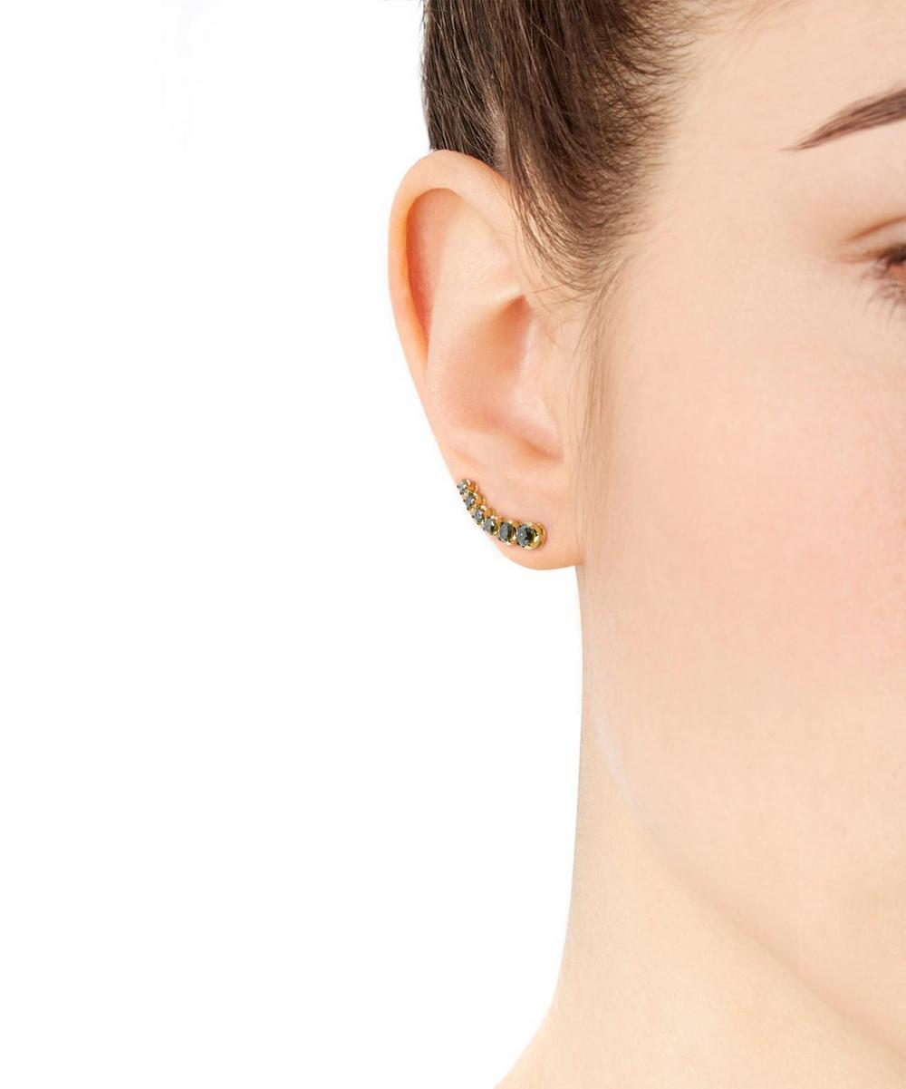 Rose-Gold Dusty Diamonds Right Ear Pin