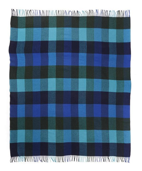 Lambswool Check Throw