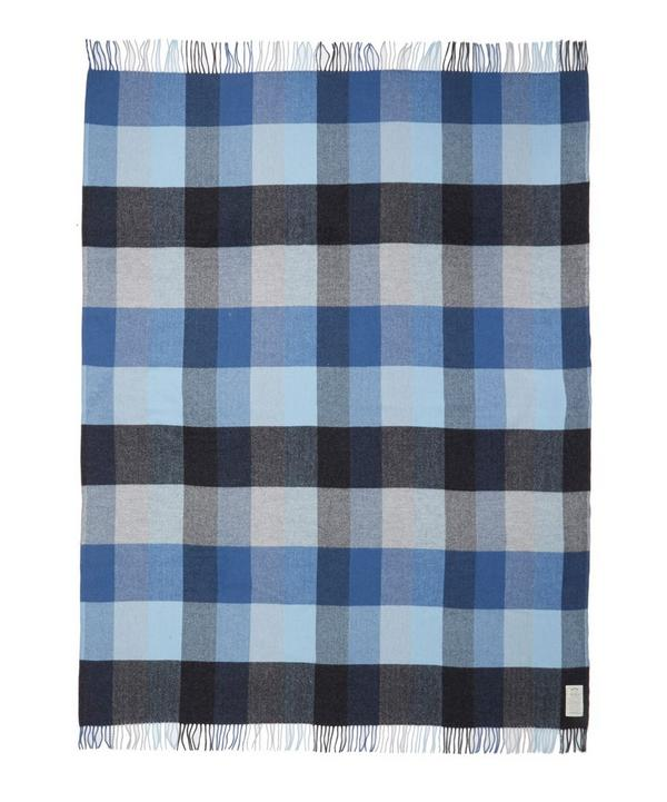 Check Lambswool Throw