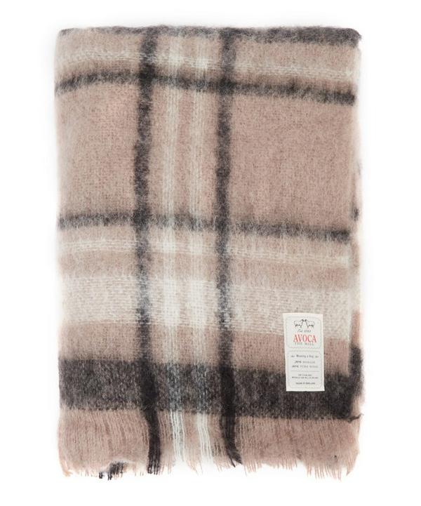 Manhattan Tartan Mohair Throw