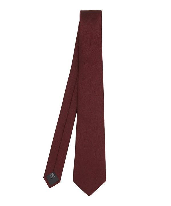Plain Silk Tie