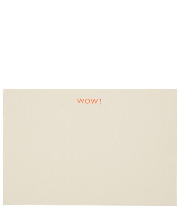 Wow Notecard Set