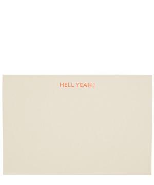 Hell Yeah Notecards Set