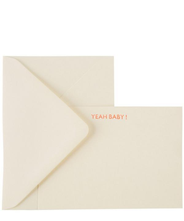 Yeah Baby Notecards Set