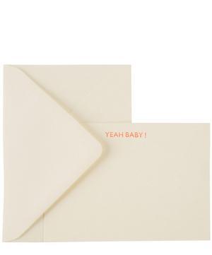Yeah Baby Notecards Set