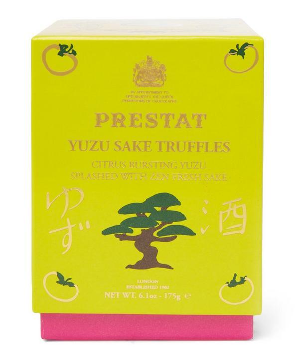 Yuzu Sake Truffles