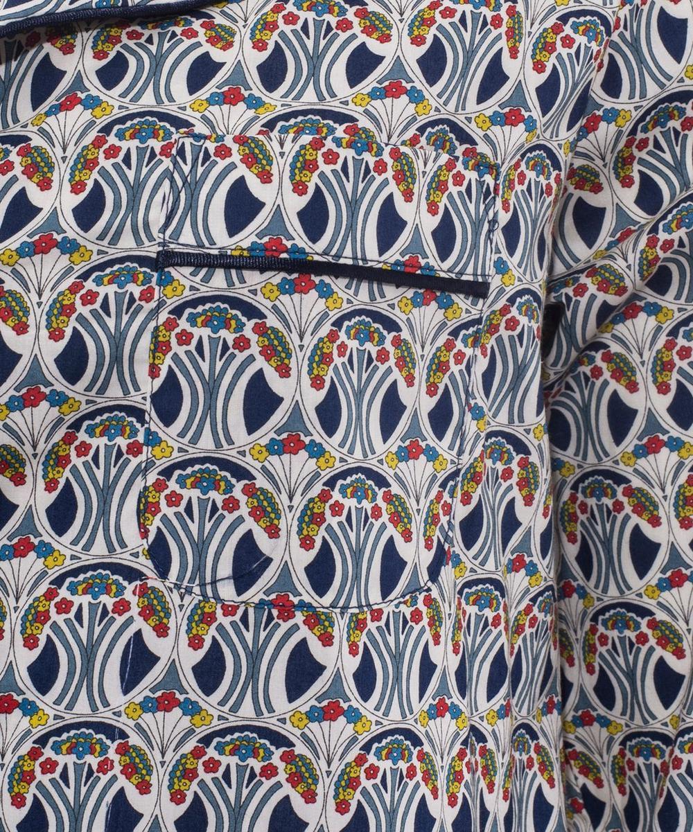 Mauverina Long Cotton Pyjama Set