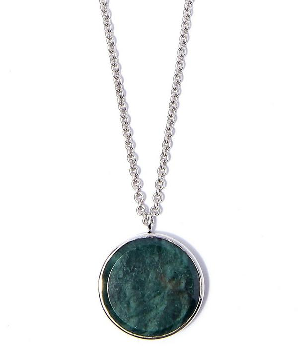 Marble Medallion Necklace