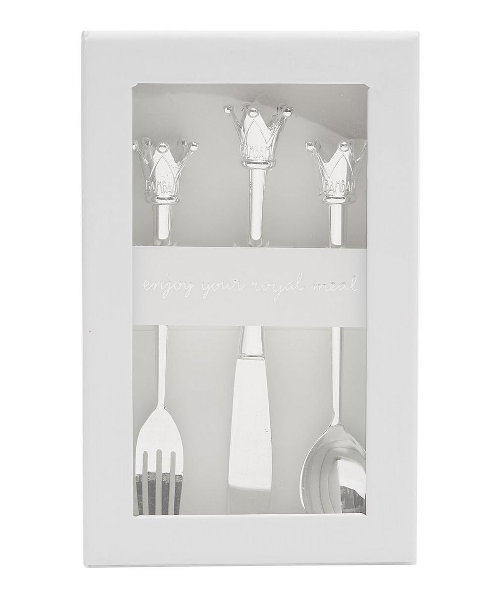 Silver-Plated Cutlery Set