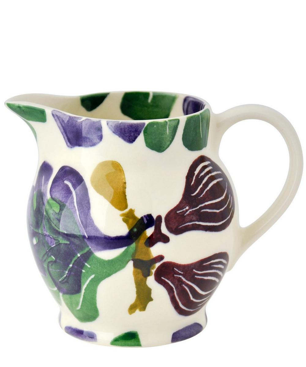Figs Half Pint Earthenware Jug