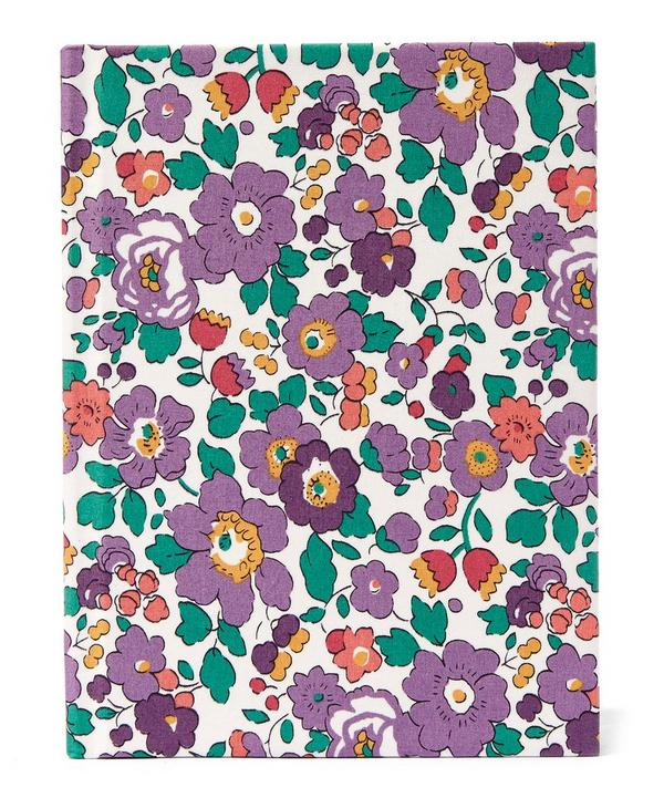 Small Betsy Liberty Print Fabric Notebook