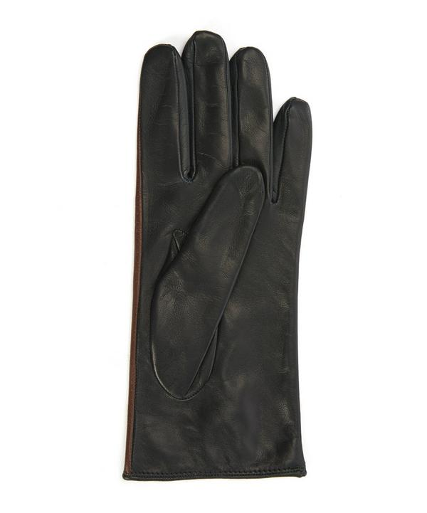 Two-Tone Nappa Gloves