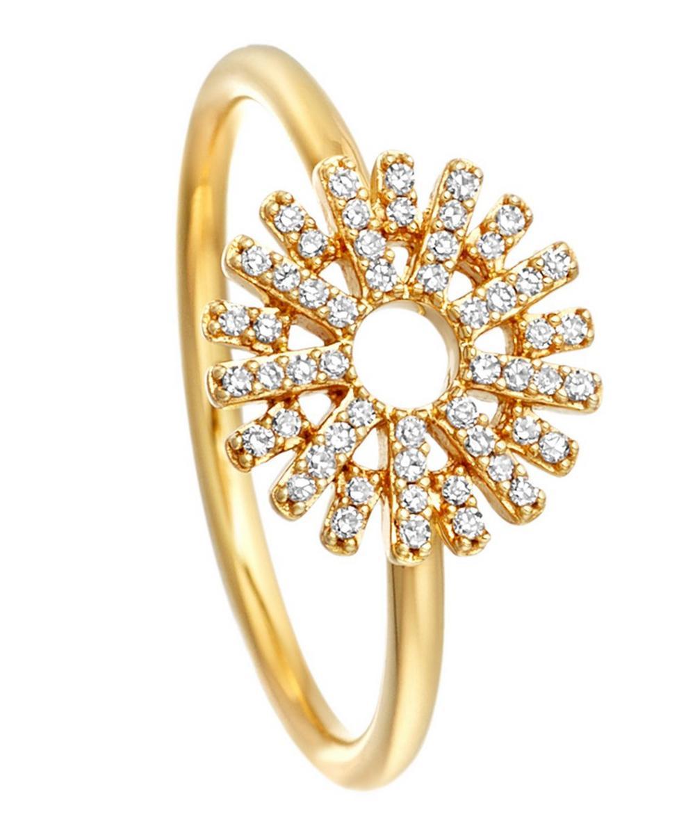 Gold Rising Sun Ring