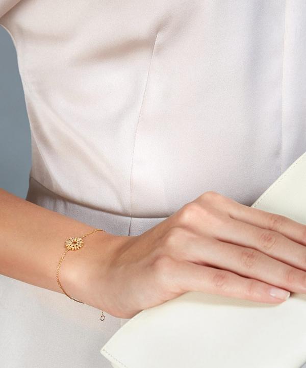 Rising Sun Diamond Bracelet