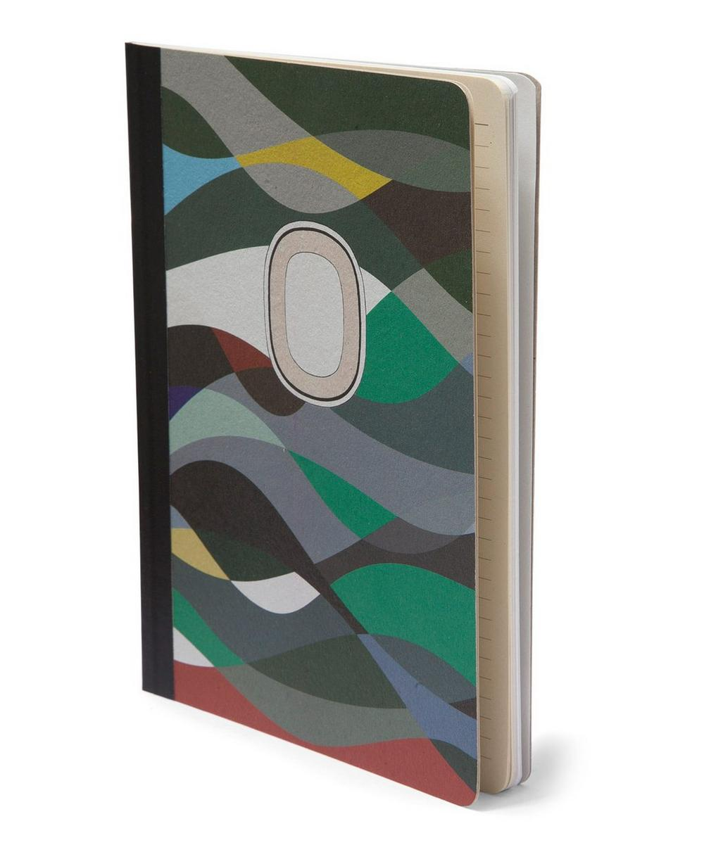 Waves A5 Papier Tigre Notebook