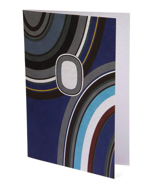 Giant Ovals Greeting Card
