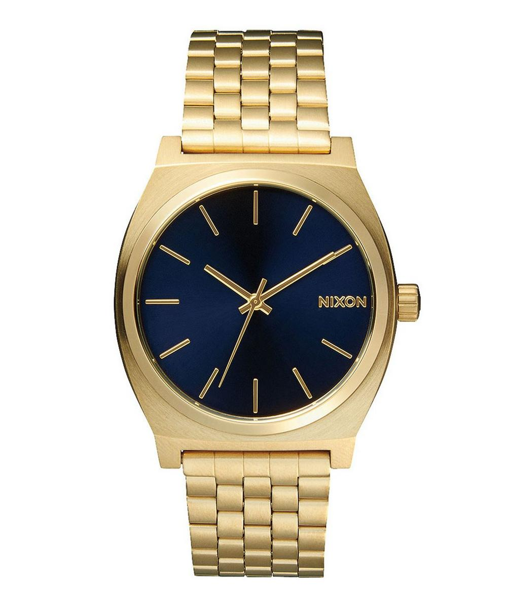 Gold-Tone Time Teller Stainless Steel Watch