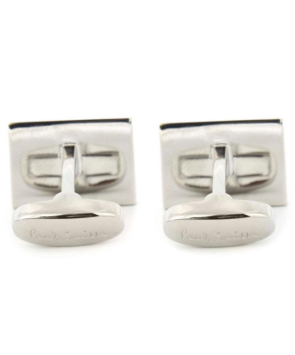 London Mini Car Photo Cufflink