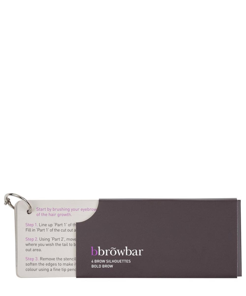 Bold Brow Silhouette