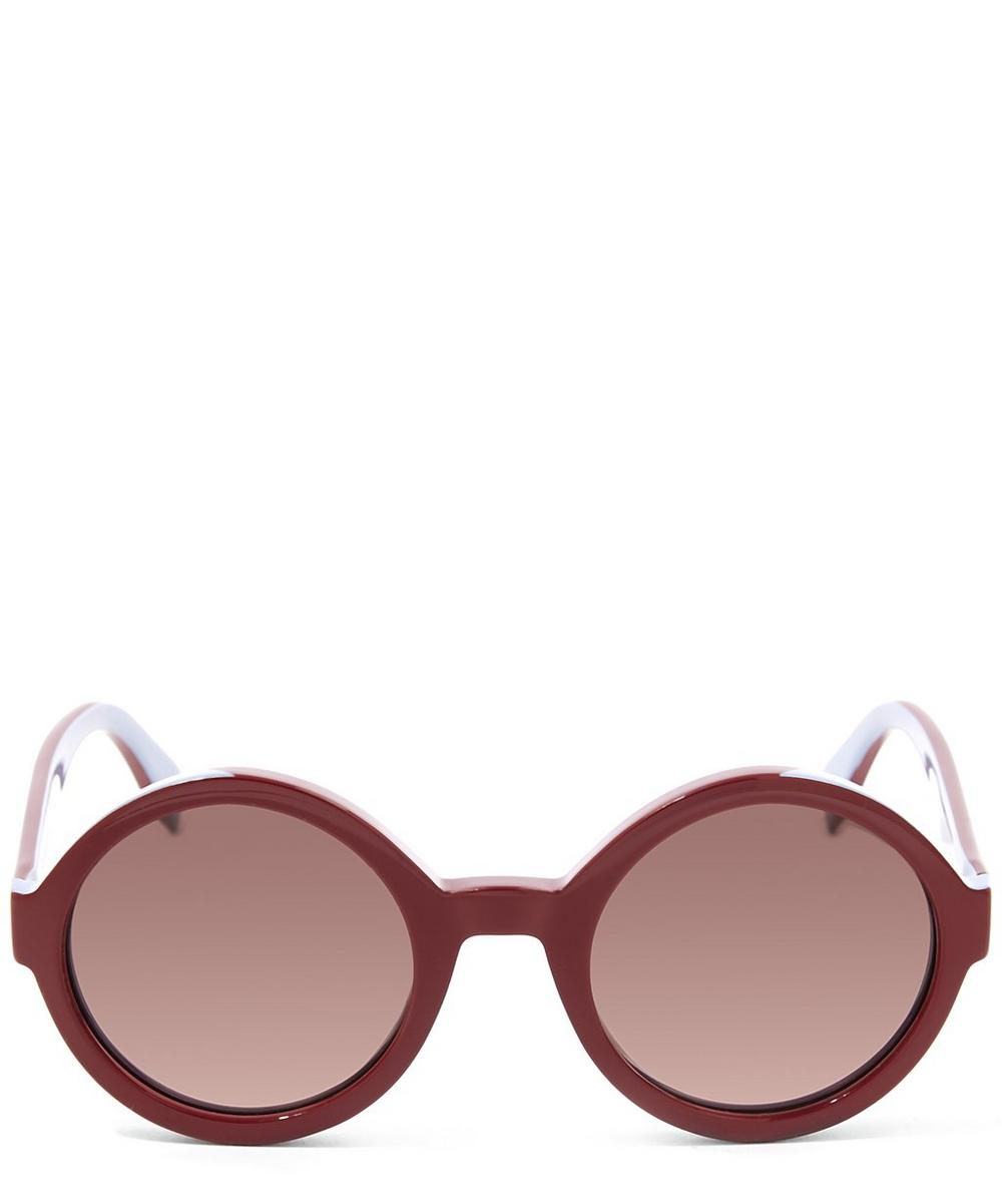 Round Bi Colour Sunglasses