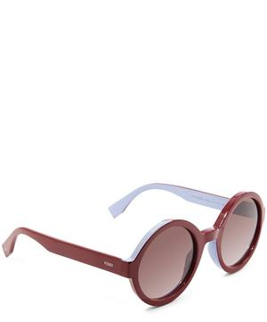 Round Bi Colour Sunglasses