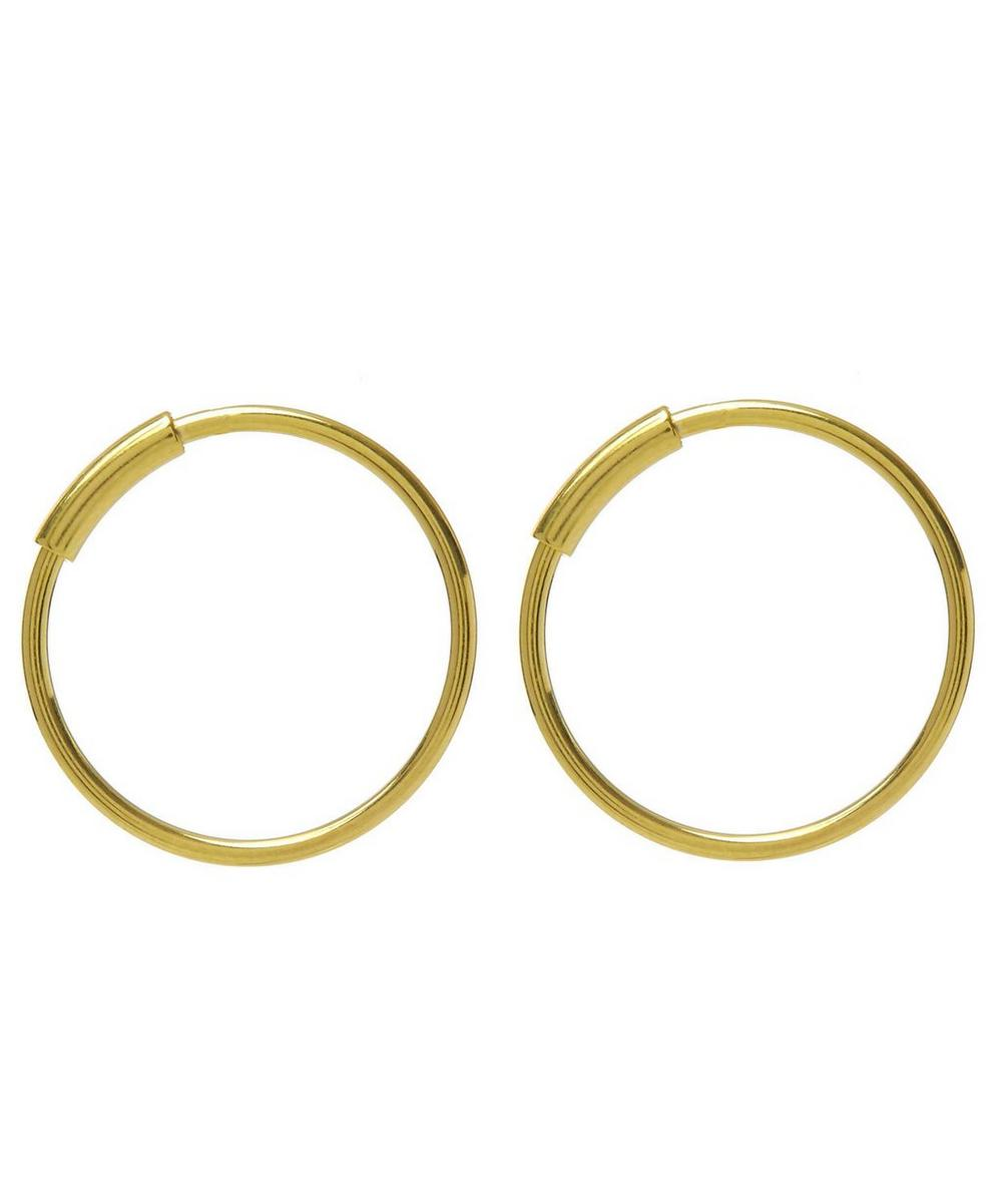 Small Basic Hoop Earrings