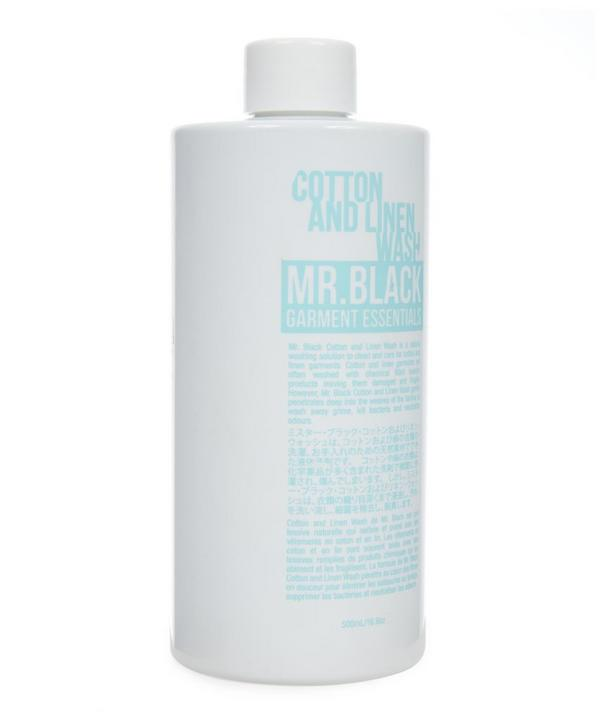 Mr. Black Cotton and Linen Wash Pack of Six