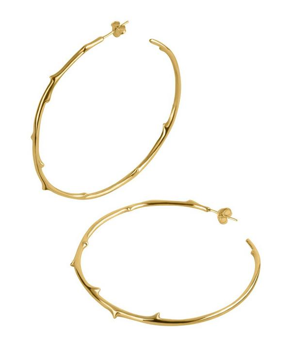 Signature Rose Thorne Hoop Earrings