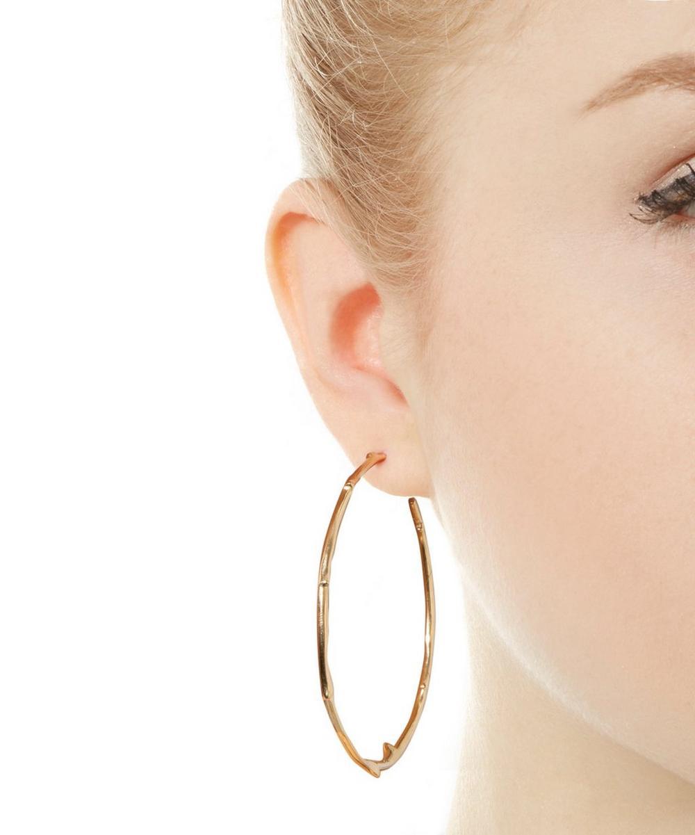 Signature Rose Thorne Hoop Earrings