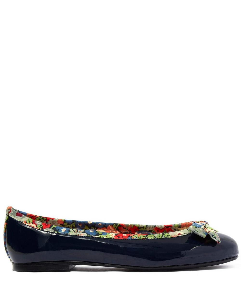 Patent Leather Henrietta Flats