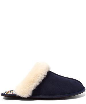 Mauverina Sheepskin Slippers