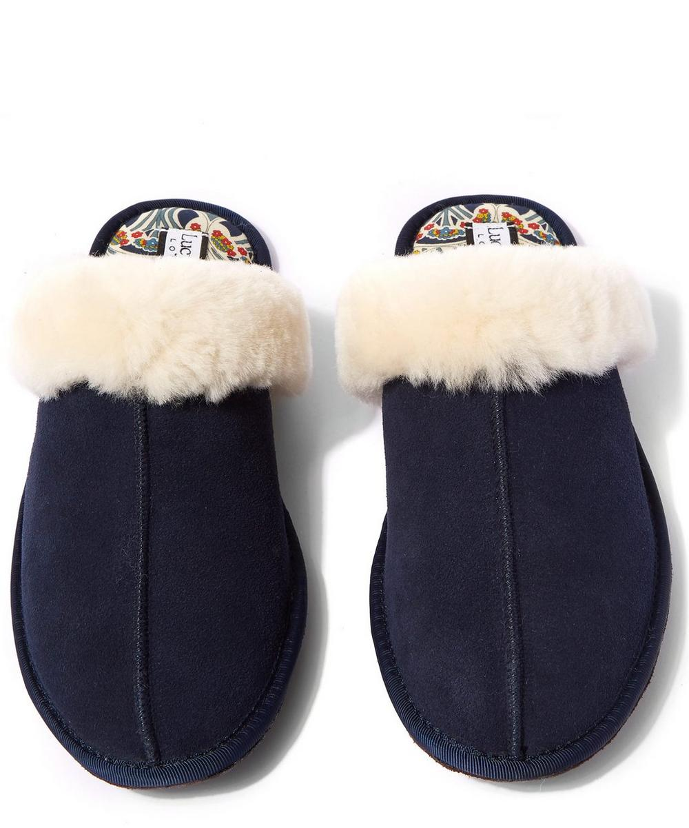 Mauverina Sheepskin Slippers
