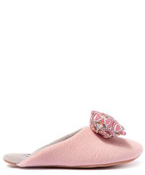 Mauverina Big Blow Slippers