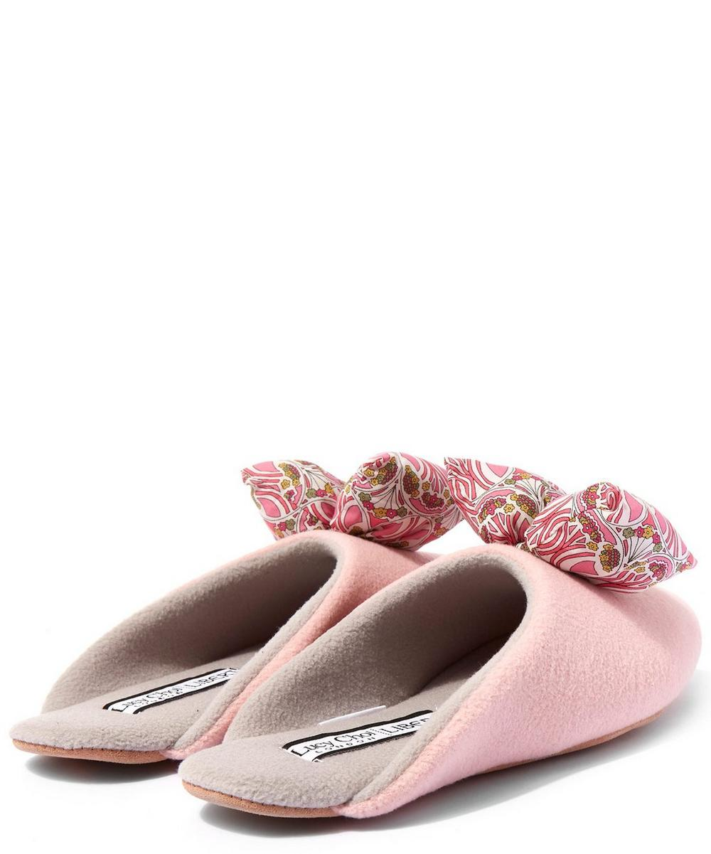 Mauverina Big Blow Slippers