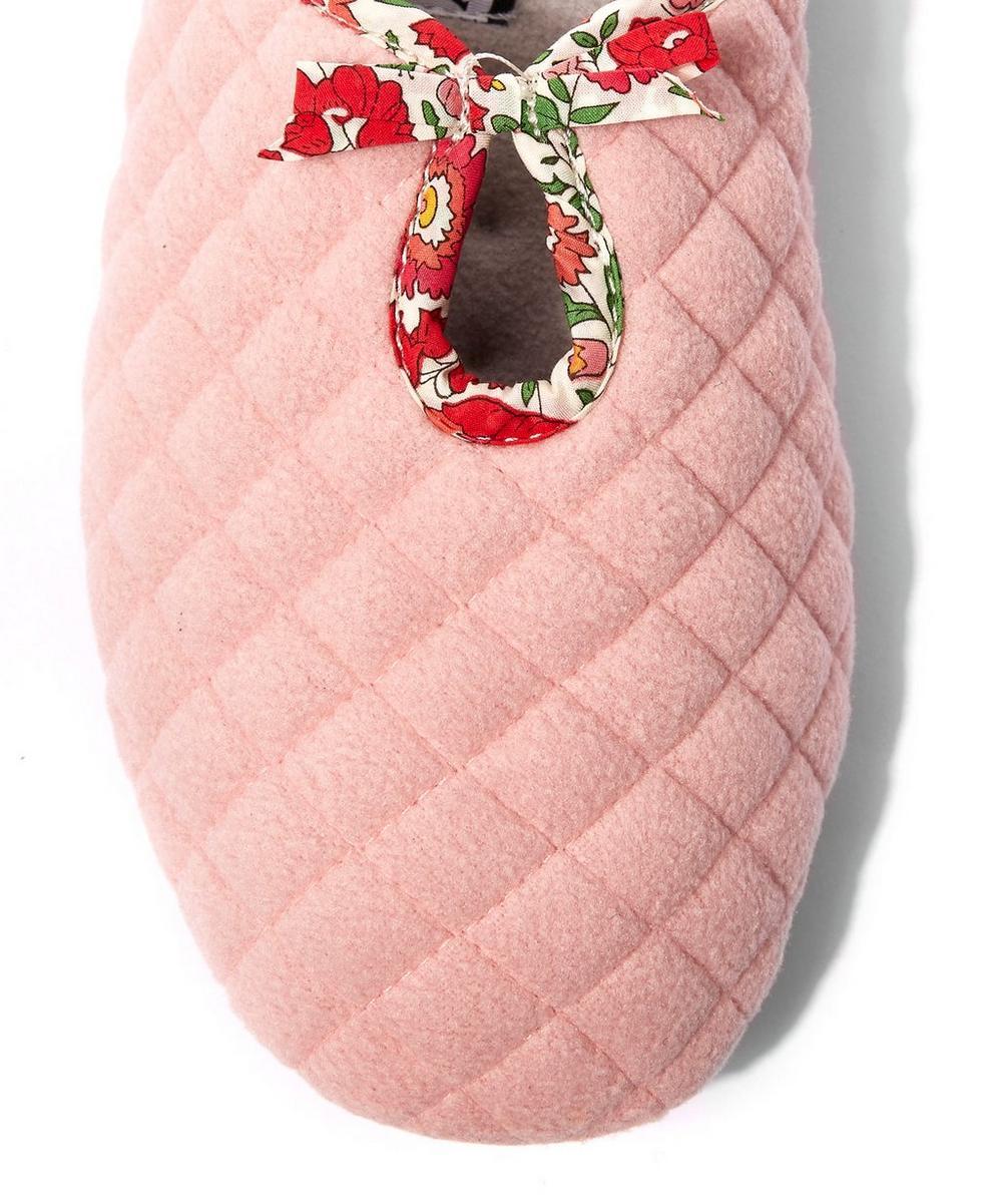 Danjo Quilted Fleece Slippers
