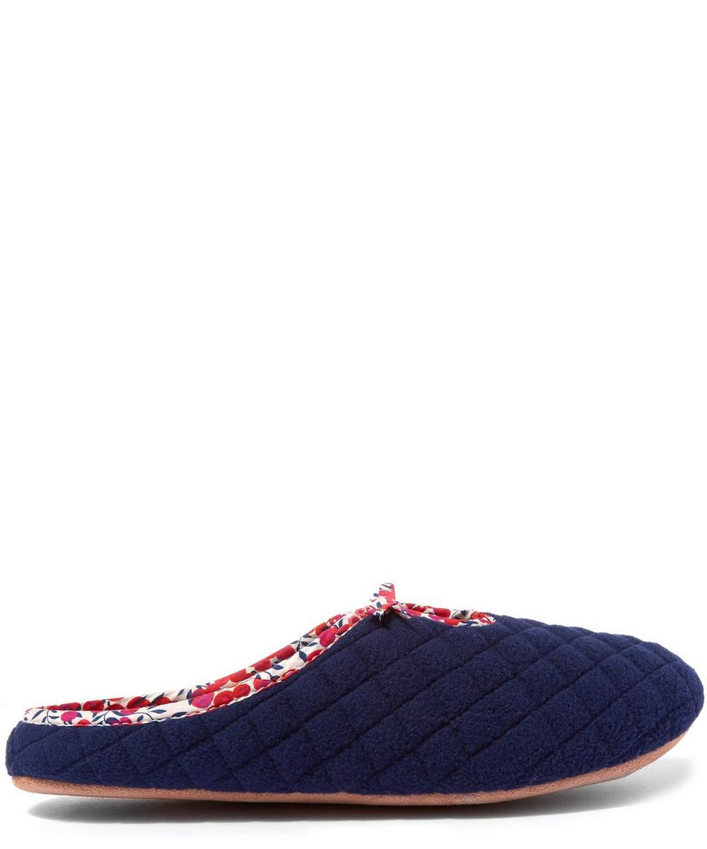 Wiltshire Quilted Fleece Slippers