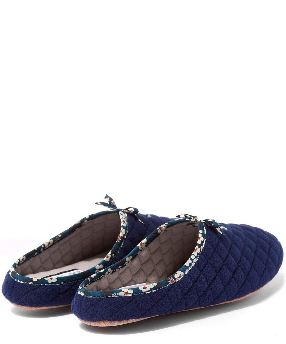 Mitsi Quilted Fleece Slippers