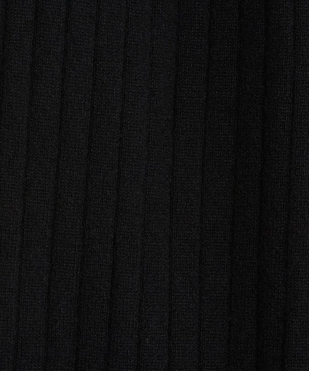 Liberty Print Long Drape Cashmere Cardigan