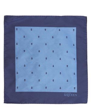 Skull Dot Pocket Square