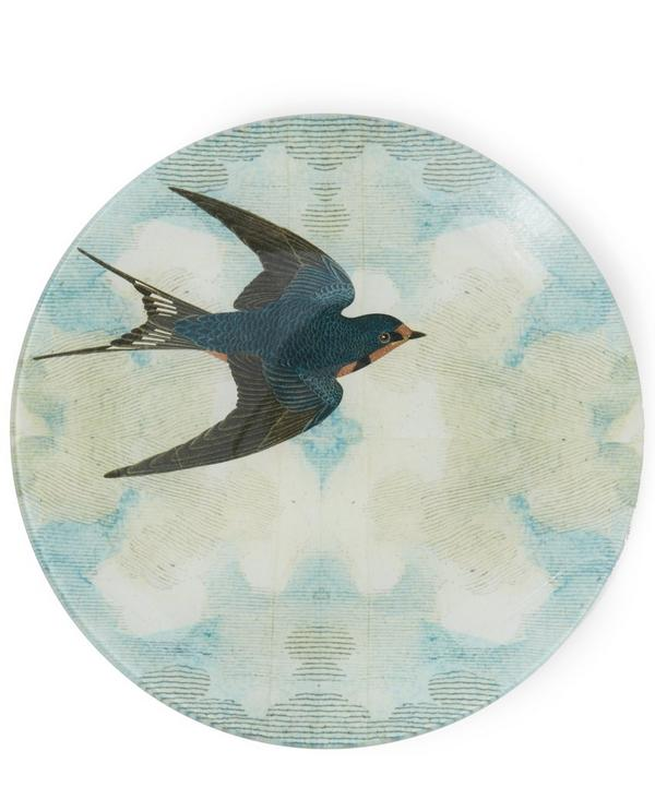 Swallow In Flight Plate