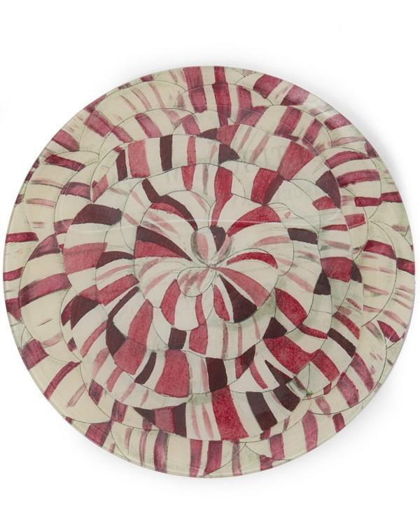 Deeply Variegated Plate