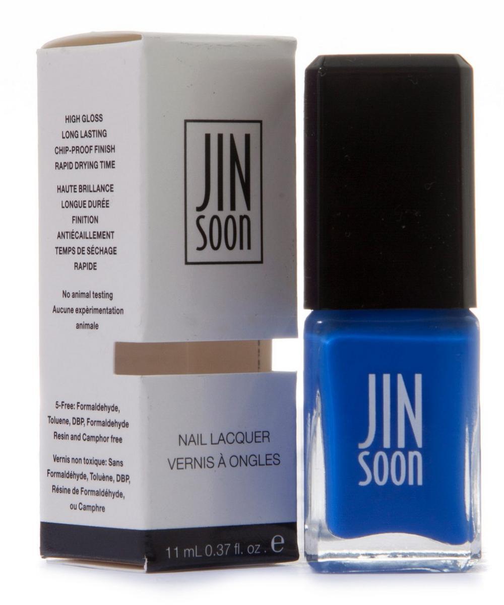 Nail Polish in Cool Blue