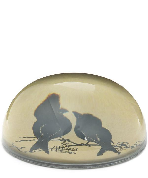 Love Birds Dome Paperweight