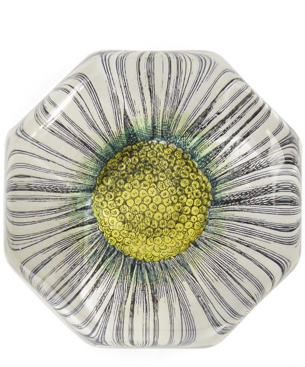 Daisy Octagonal Charm Paperweight